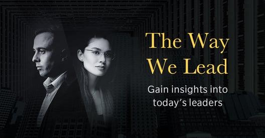 The Way We Lead [E-book]