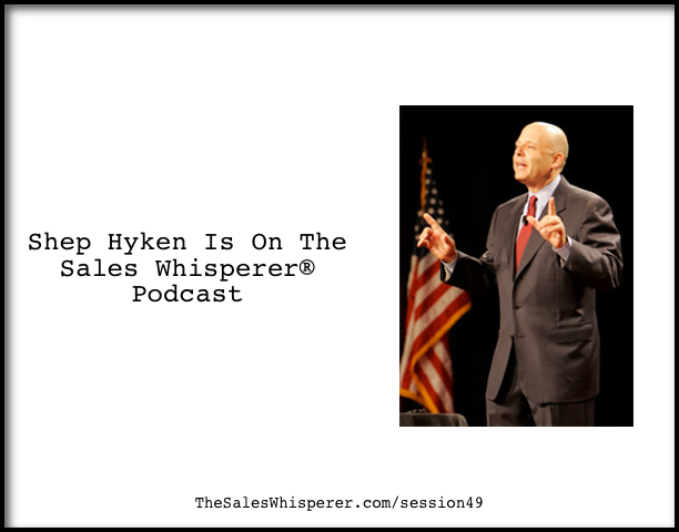 Shep-Hyken-On-The-Sales-Podcast-49