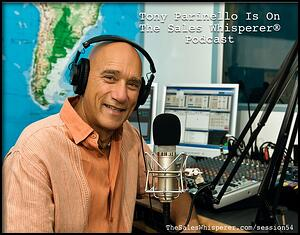 Anthony Parinello On The Sales Podcast with Wes Schaeffer, The Sales Whisperer®.
