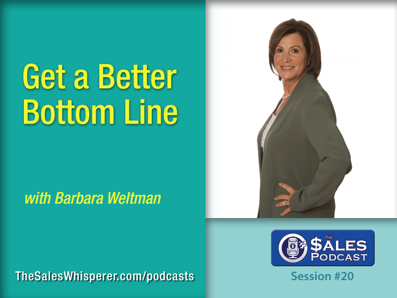 Barbara Weltman helps you keep more of what you earn as sales professional