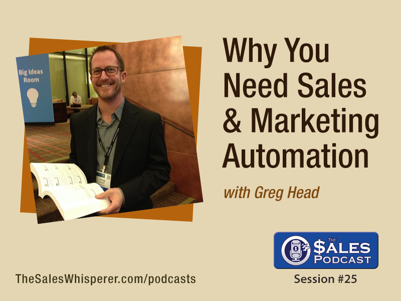 Greg-Head on The Sales Podcast 25