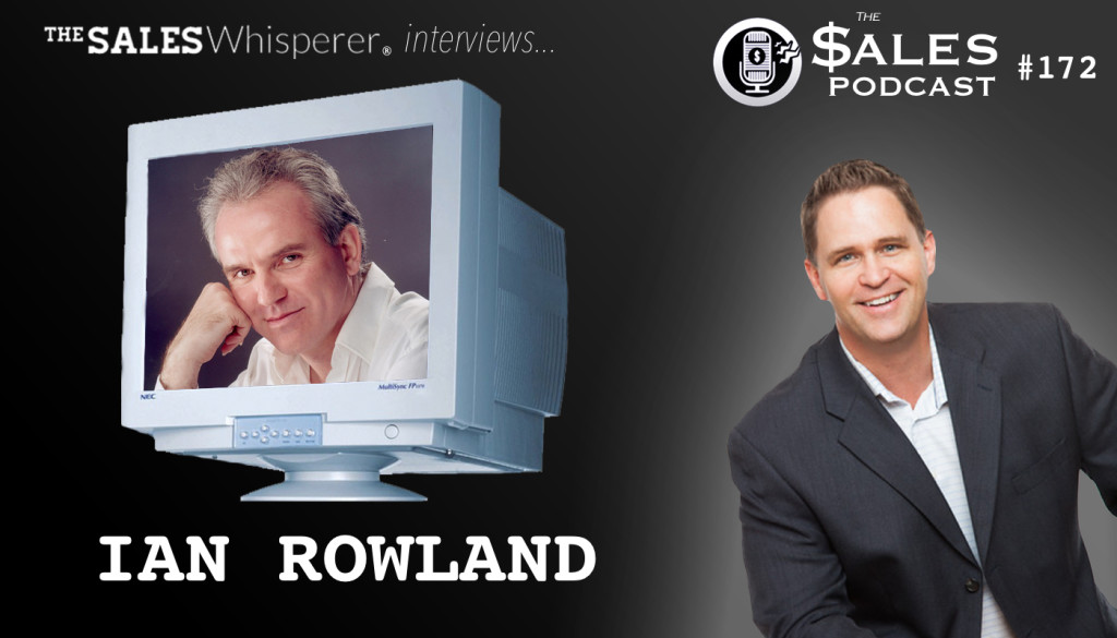 Learn to read minds to close sales with Ian Rowland on The Sales Podcast