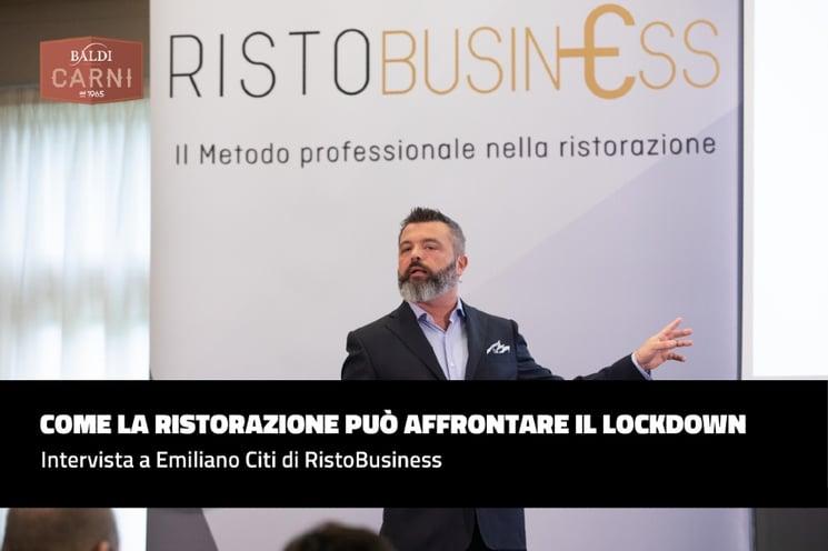 INTERVISTA AD EMILIANO CITI DI RISTOBUSINESS