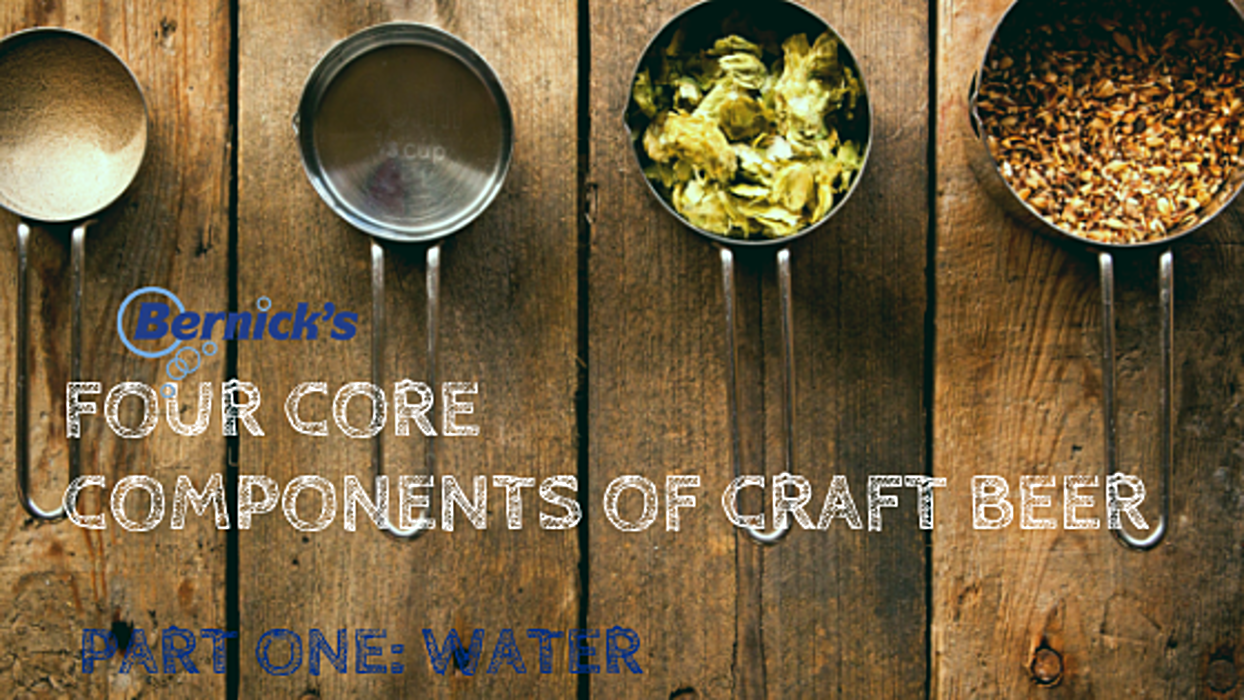 The Four Core Components of Craft Beer Part One: Water