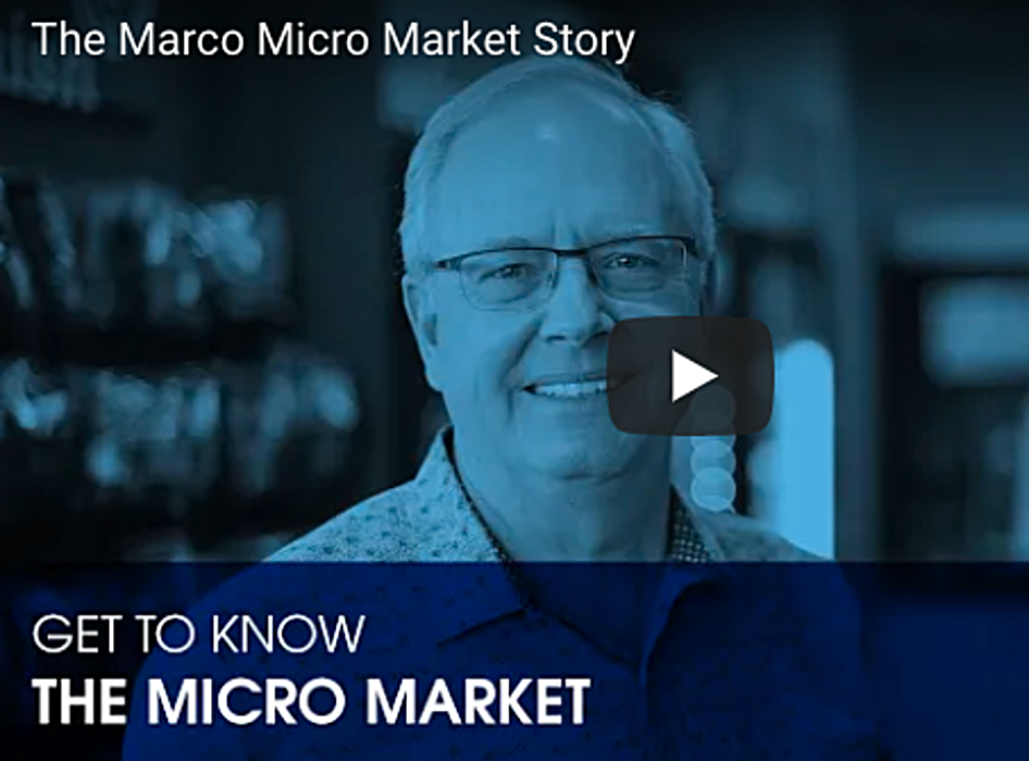 The 3 M's: Marco's Micro Market [A video]