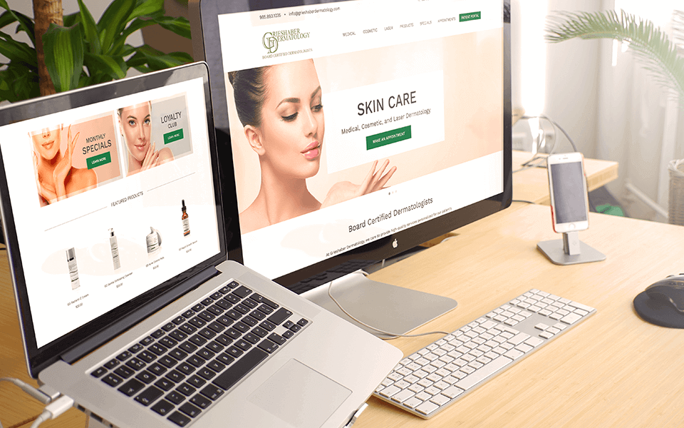 Grieshaber Dermatology Skincare Brand Marketing | Eventige