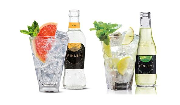 Inspiratie: Zonnige alcoholvrije mocktails van Fïnley