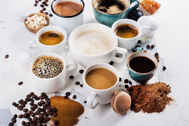 Koffie: een boost voor de energie, motivatie en concentratie.