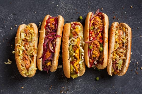 De hotdog is de hamburger van de toekomst