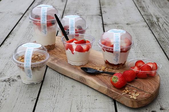 Creatief met luchtige yoghurt!