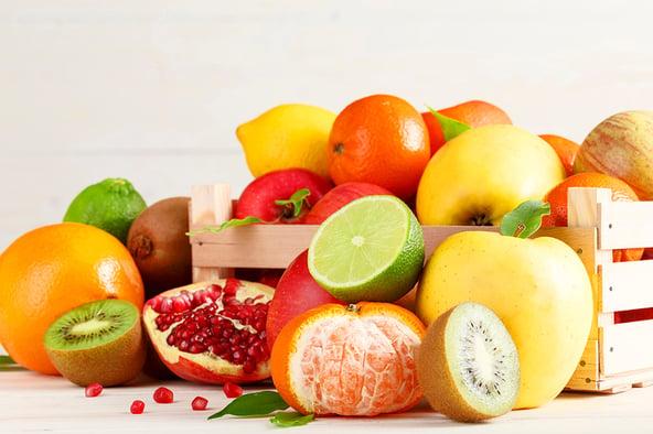 In 4 stappen fruit op het werk