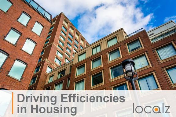 Driving Efficiencies in Housing