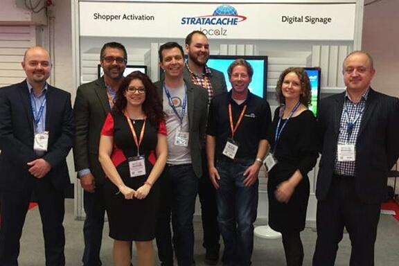 Localz Partners with Stratacache