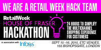 Localz in Retail Week House of Fraser Hackathon
