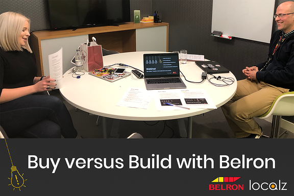 Buy versus Build - To build, or not to build, that is the question.