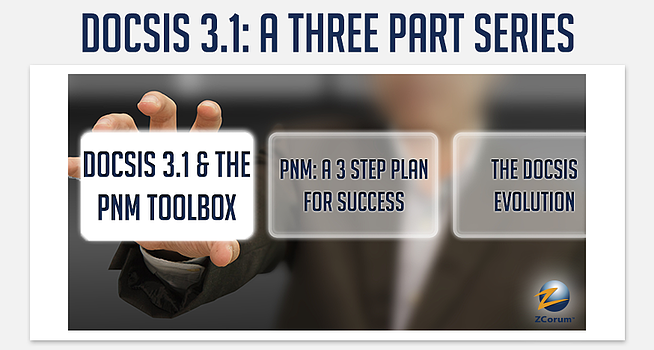 docsis 3.1 and the pnm toolbox header