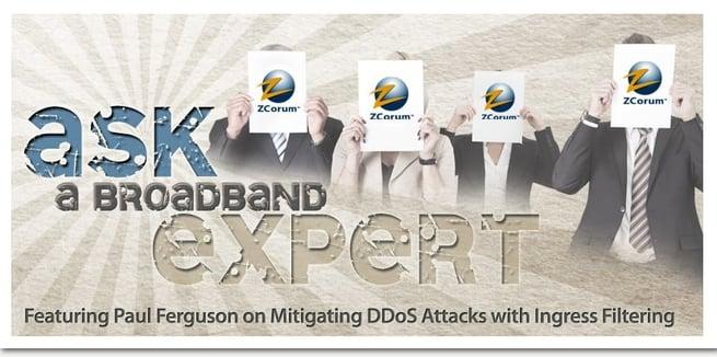 Paul Ferguson DDoS Attacks