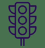inbound-traffic light icon