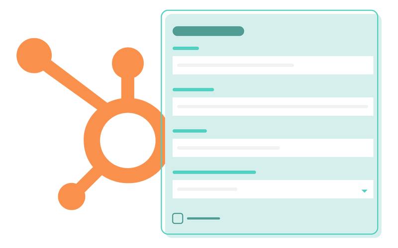 Example of a HubSpot Form