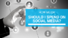 The cost of social media marketing in Dubai, Abu Dhabi and Doha is a difficult question to answer unless you have a clear objective of what social media should do for your business.