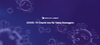 Coronavirus Checklista för Hotel Sales Manager