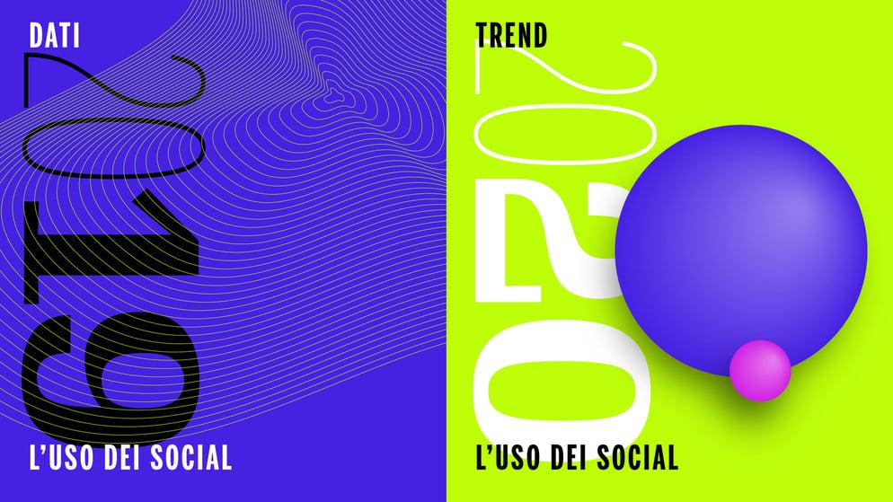 Uso social network media italia 2019 2020