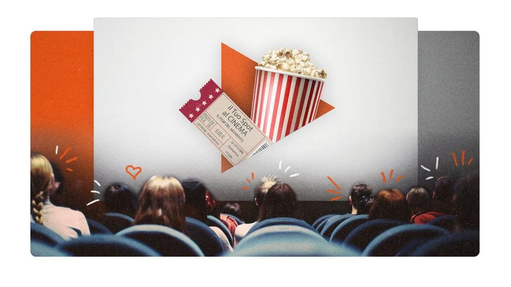 offerta spot pubblicità al cinema