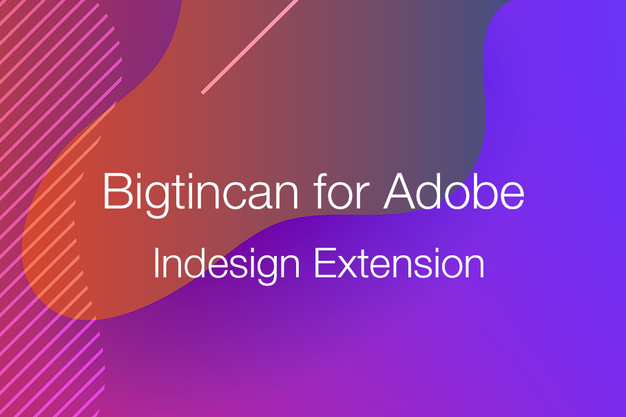 Adobe Indesign extension blog