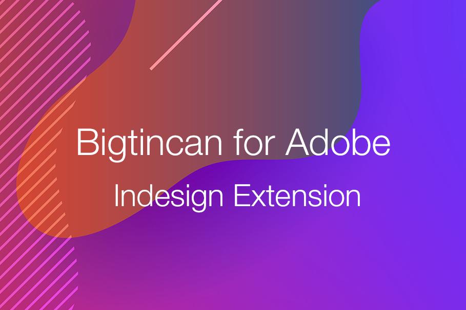 Adobe Indesign extension blog