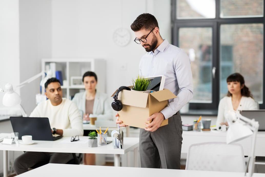 CMO leaving job