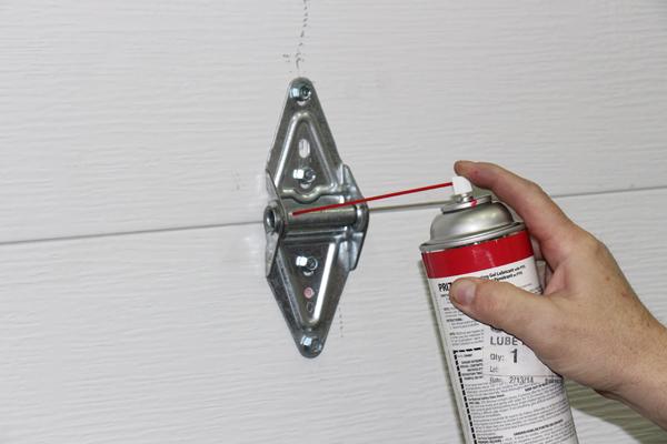 garage door lubeKeep Your Garage Door Working Smoothly And Quietly