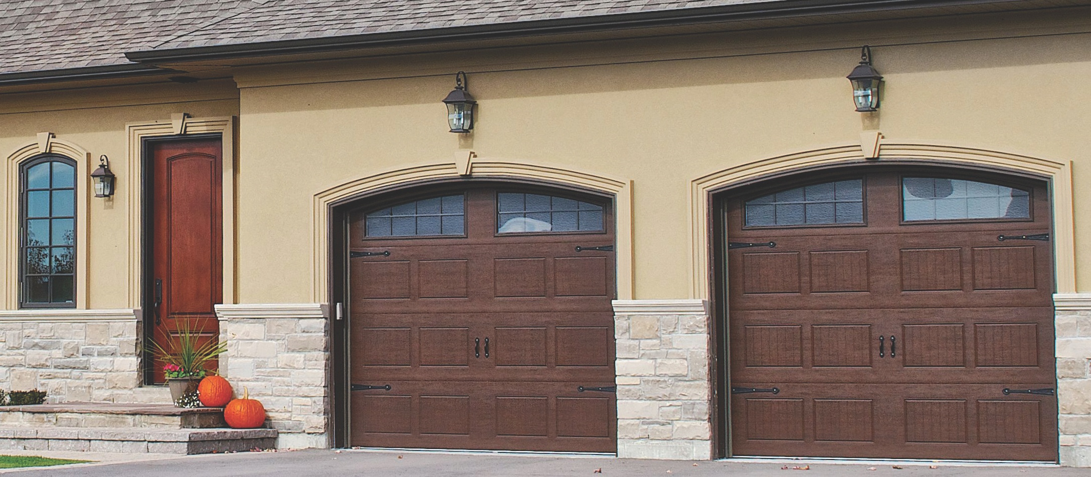 Which Do You Prefer: A Double Garage Door? Or Two Single Doors?