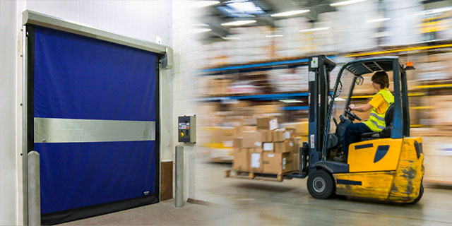 New High-Speed Doors Can Limit Air Exchange, Cut Costs In Manufacturing