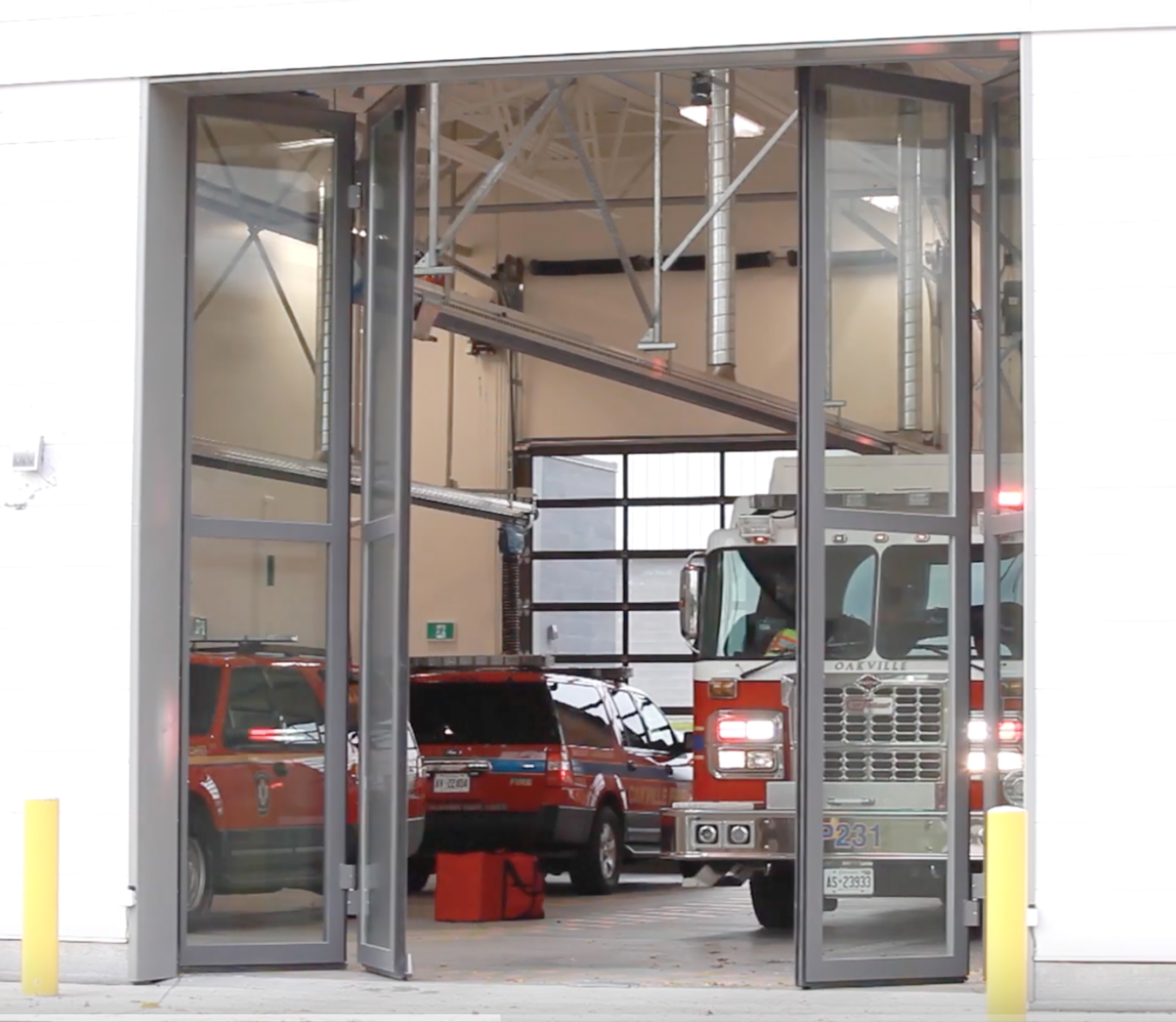 New Oakville fire station, community centre and landmark arena renovation set a new standard for smart access planning.