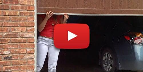 Why Is My Garage Door So Heavy To Lift?