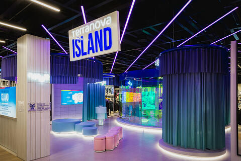 T-Island: the innovative concept of the Terranova's training center