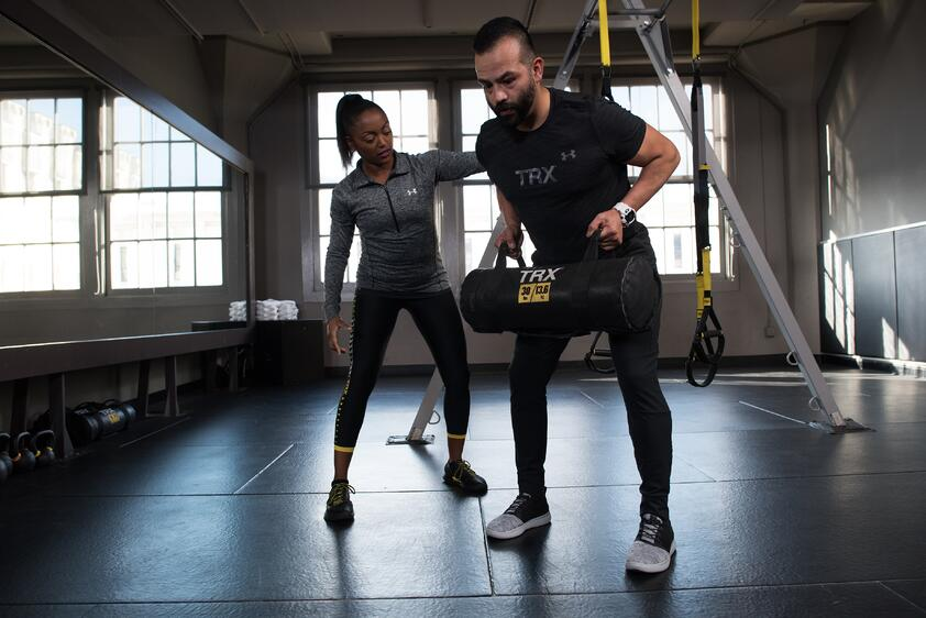Integrating The New TRX Power Bag