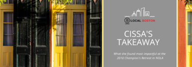 Takeaways from the B corp champions retreat in new orleans