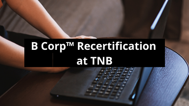 B Corp™ Recertification at TNB