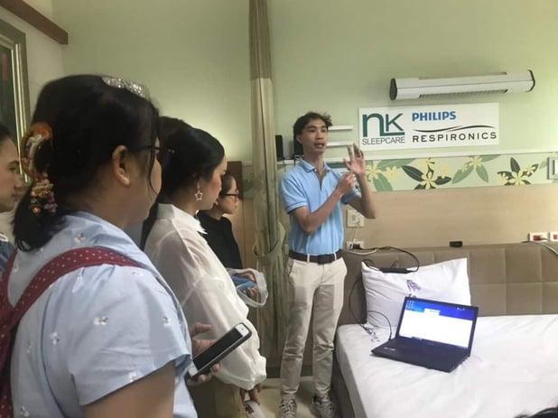 NK Sleepcare ร่วมทำ CPAP Workshop