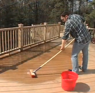 Captivating Composite Deck Cleaning