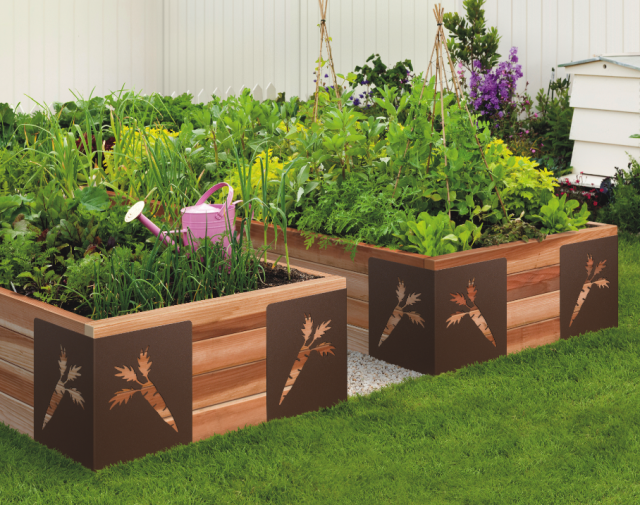 Building a Raised Bed Garden with Ipe