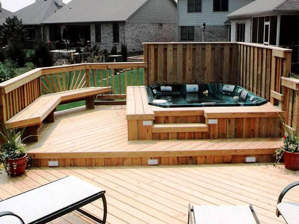 Deciding Where to Place a Hot Tub on Your Deck