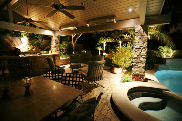 When you want to set a certain mood or showcase your deck in a new way consider these lighting options. & Set the Mood with These Beautiful Outdoor Lighting Options azcodes.com