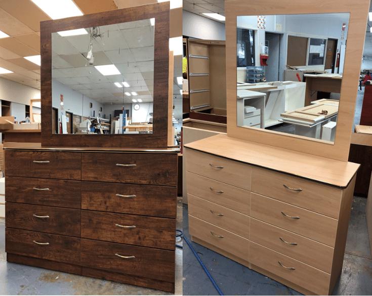 Large Mirror Dresser 1-1