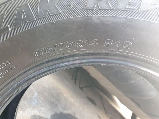 Bridgestone Tyre 175 70R14 (2)