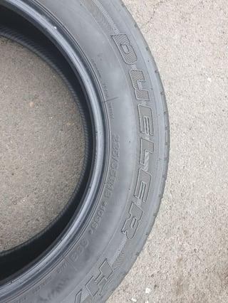 Bridgestone tyre Dueler HL 22565R18 103S (2)