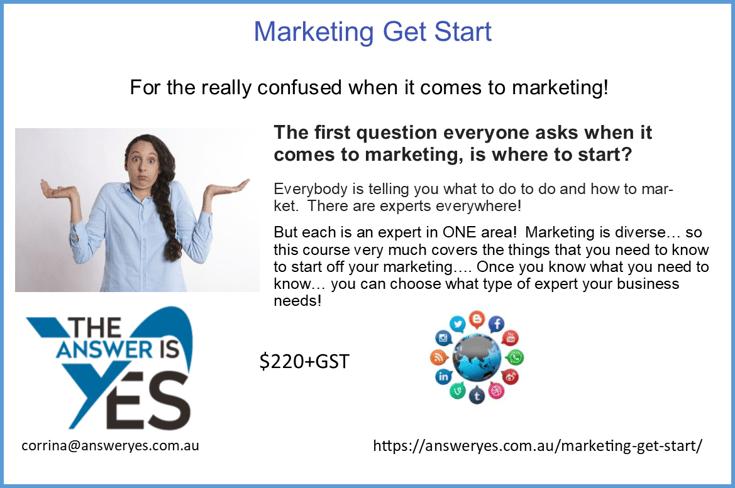Marketing Get Start Ad 1