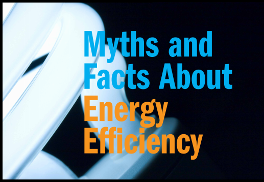 Download the myths and facts about energy efficiency ebook for Energy conservation facts