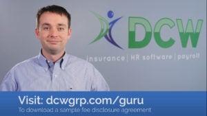 DCW Fee Disclosure Agreement